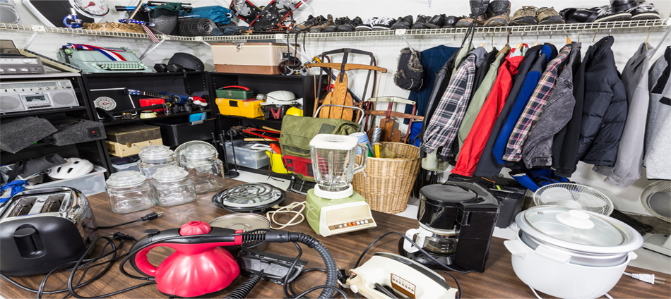 Yard Sale Photo with various sale items